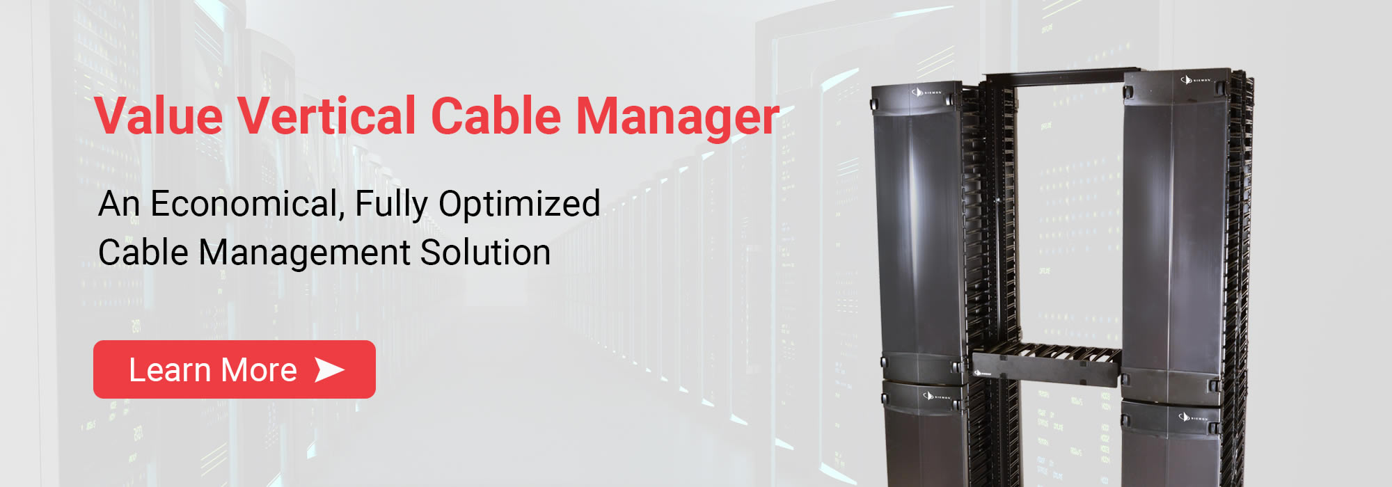 Value Vertical Cable Managers