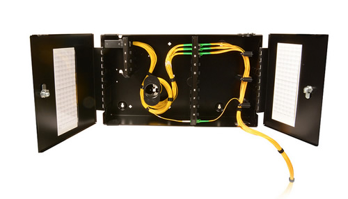 Fiber Distribution Enclosures, Panels, Hubs and Zone Cabling