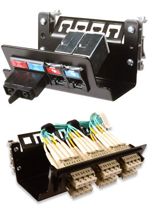 DIN Rail Mounted Patch Panels