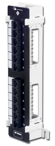 network patch panels category e a and modular patching are you looking to retrofit 66 punch down blocks to a modular design mounted on s89d bracket category 5e hd5 89 network patch panels are also