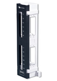 12-Port MAX Panel Mounted On S89D Bracket