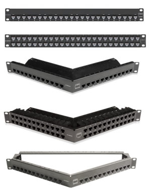 Z-MAX 6A Shielded Patch Panels