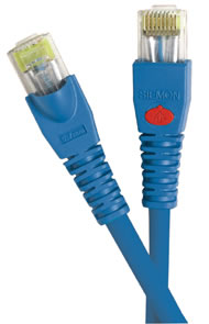RJ-45 plug meeting Category 5e/class D cabling requirements