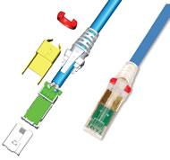 Z-MAX 6A UTP Modular Cords