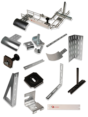 Routeit Cable Tray Accessories Siemon Interconnect Products