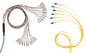 XGLO Fiber Trunking RazorCore Cable Assemblies