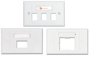 Australian/New Zealand Horizontal Faceplates