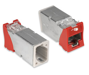 Category 6A Z-MAX 6A Shielded Outlets