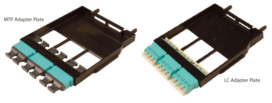 LightStack - Fiber Adapter Plates