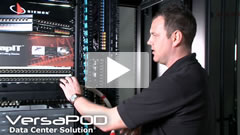 Siemon VersaPOD data center cabinet Demonstration